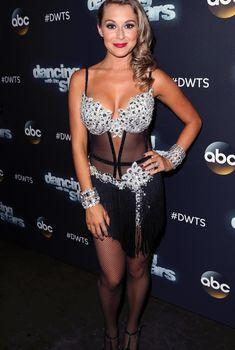 Алекса Вега в возбуждающем наряде на шоу Dancing With the Stars, 2015