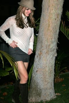 Красотка Бритни Спирс засветила голую грудь в прозрачной блузе