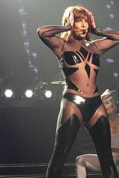 Эротический наряд Бритни Спирс во время выступления в Лас-Вегасе, Август 2015