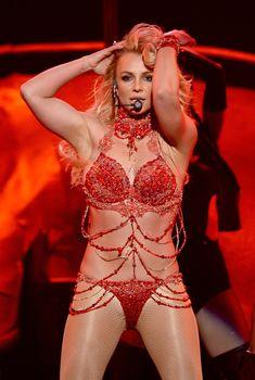 Горячая Бритни Спирс в эротическом наряде на сцене Music Awards Show, 20.04.2016