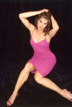 Очень красивая Брук Шилдс в возбуждающем платье