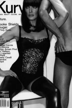 Горячая Брук Шилдс в эротической фотосессии для журнала Kurv, 2009