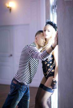 Ольга Бузова в эротическом наряде на фотосессии с рэпером T-killah, 2017