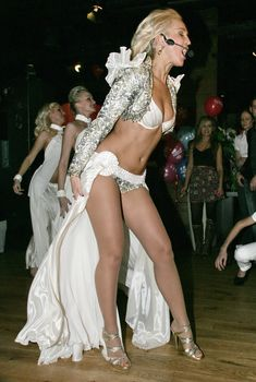 Страстная Ольга Бузова в эротическом наряде на публике