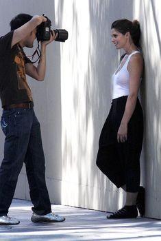 Красотка Эшли Грин засветила соски сквозь прозрачную майку, 2009