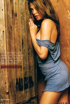 Эро фотосессия Эшли Грин для журнала Maxim, 2008