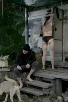 Клавдия Коршунова в нижнем белье в сериале «Инквизитор», 2014