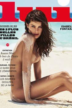 Красавица Изабель Фонтана снялась обнажённой в журнале Lui, Сентябрь 2016
