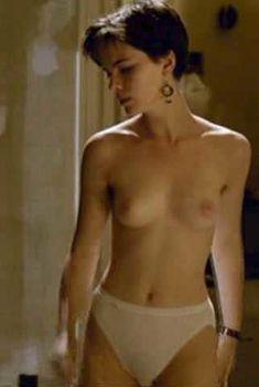Молодая Кейт Бекинсейл топлесс в фильме «Фламандская доска», 1994