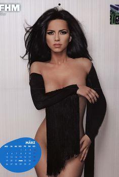 Сексуальная Инна в журнале FHM, 2012