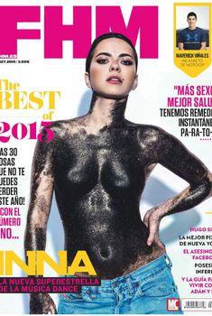 Сексуальное тело Инны в журнале FHM, Январь 2015