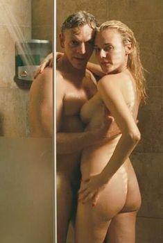 Голая Дайан Крюгер в фильме «Век помрачения», 2007