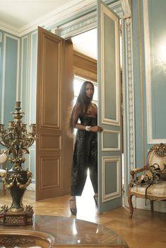 Горячая Наоми Кэмпбелл разделась для журнала Vogue, Июль 2008