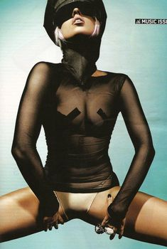 Горячая Леди Гага в журнале Maxim