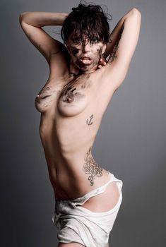 Леди Гага голышом для журнала V Magazine, Август 2013