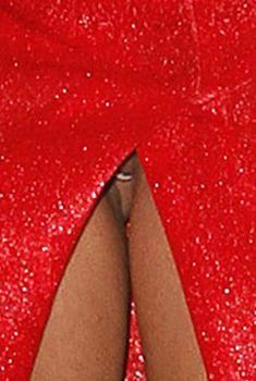 Между ног у Леди Гаги видно голую письку, 2011