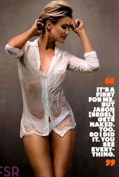 Соблазнительная Камерон Диаз в журнале Esquire, 2014