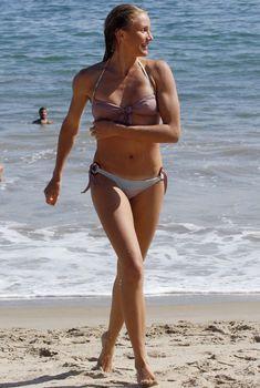 Грудь Камерон Диаз в мокром купальнике, 2007