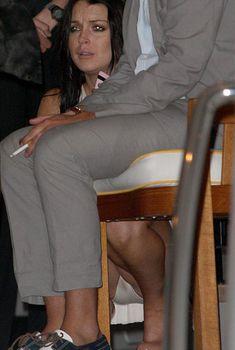 Облегающие трусики Линдси Лохан показали промежность, 2012