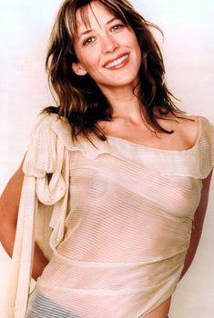 Софи Марсо показала соски в журнале Tatler, 2007