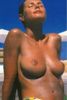 Хайди Клум топлесс в журнале Fit for Fun, 1999