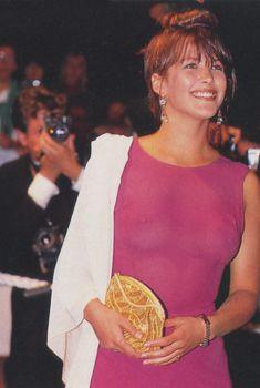 Софи Марсо без белья на кинофестивале в Каннах, 1989 год, 1989