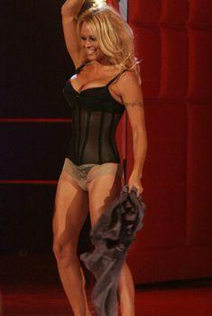 Памела Андерсон в сексуальном белье на телешоу, 2008