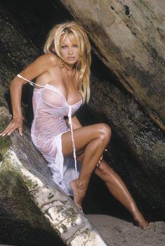 Памела Андерсон в сексуальной фотосессии, 2004