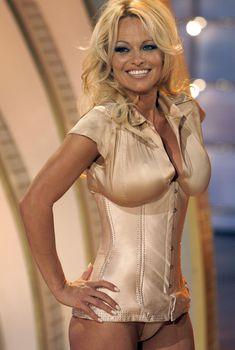 Памела Андерсон в соблазнительном наряде на телешоу Welcome to Carmen Nebel, 2008
