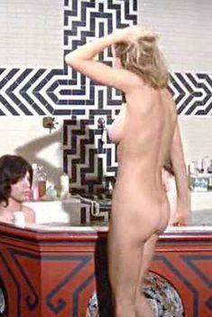 Голая Анита Палленберг в фильме «Представление», 1970