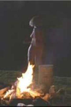 Голая Джессика Лэнг в фильме «Стопроцентный американец для всех», 1988