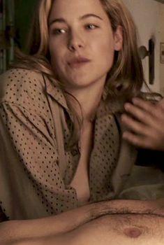 Каролин Давернас засветила грудь в фильме «Смерть супермена», 2006