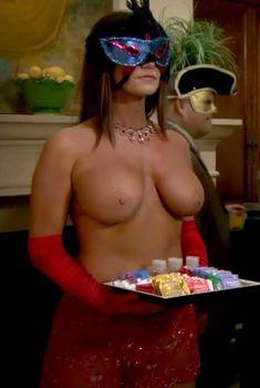 Голая Криста Келли в сериале «Мастера вечеринок», 2009