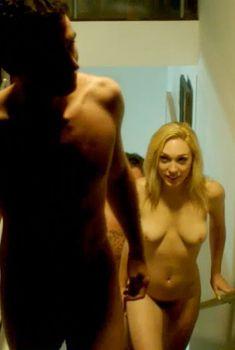 Голая Лили Лабё в фильме «Каньоны», 2013