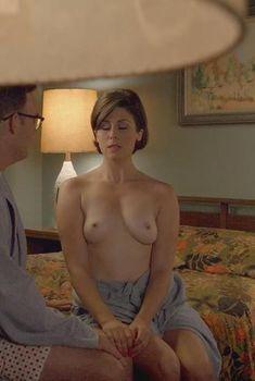 Голая Саша Александр в сериале «Мастера секса», 2013