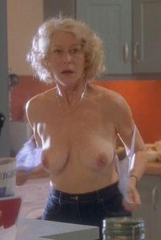 Голая Хелен Миррен в фильме «Девочки из календаря», 2003