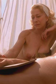 Голая Хелен Миррен в фильме «Римская весна миссис Стоун», 2003