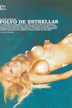 Секс символ Памела Андерсон для журнала Playboy, Июнь 2006