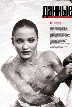 Камерон Диаз разделась для журнала Playboy, Декабрь 1998