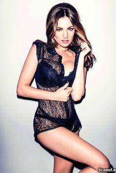 Сексуальная Келли Брук в журнале FHM, Март 2014