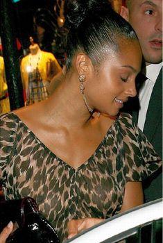 Алеша Диксон в прозрачной блузке, Июнь 2008