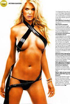 Соблазнительная Виктория Сильвстедт в журнале FHM, Ноябрь 2006