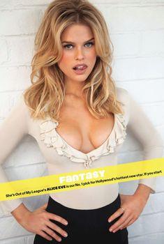 Секси Элис Ив  в журнале Maxim, Апрель 2010