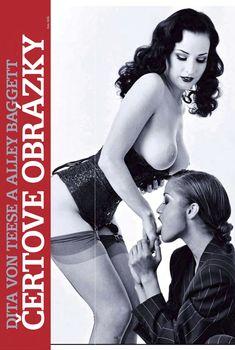 Дита Фон Тиз в лесбийской фотосессии в журнале Playboy, Январь 2010