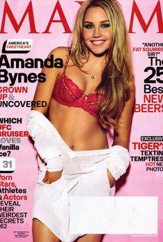 Сексуальная Аманда Байнс на фото для журнала Maxim, Февраль 2010