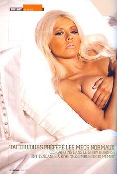 Эротичная Кристина Агилера  в журнале Maximal, Апрель 2007