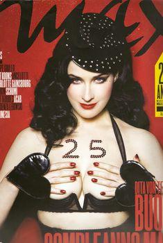 Эротичная Дита Фон Тиз  в журнале Max, Март 2010