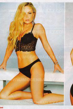 Красавица Имоджен Бэйли в сексуальном белье для журнала ZOO, Февраль 2006
