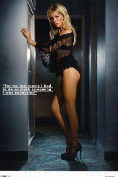 Эротичная Кэти Кэссиди в сексуальном образе для журнала FHM, Ноябрь 2009