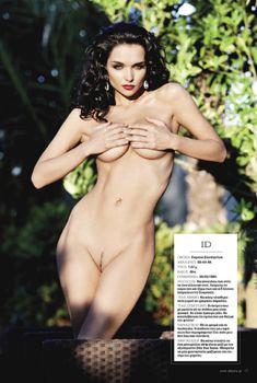 Евгения Диордийчук в обнаженном виде в греческом журнале Playboy, Греция